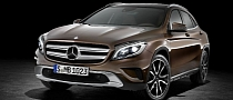 GLA Crossover to Join C-Class on Brazil Assembly Line in 2016