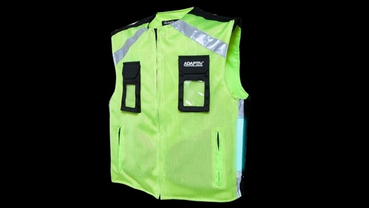 GlowRider Electroluminescent Vest Offers Increased Safety