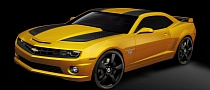 GM Announces 2012 Camaro Transformers Special Edition