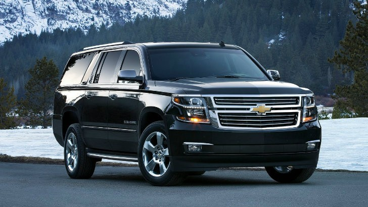 gm full size suvs updated for the 2015i model year autoevolution. Black Bedroom Furniture Sets. Home Design Ideas