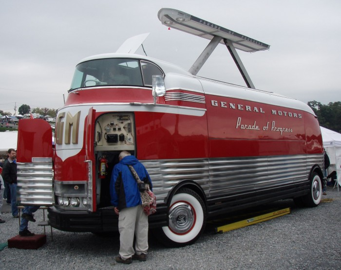 Gm Futurliner 10 Joins National Historic Vehicle Register