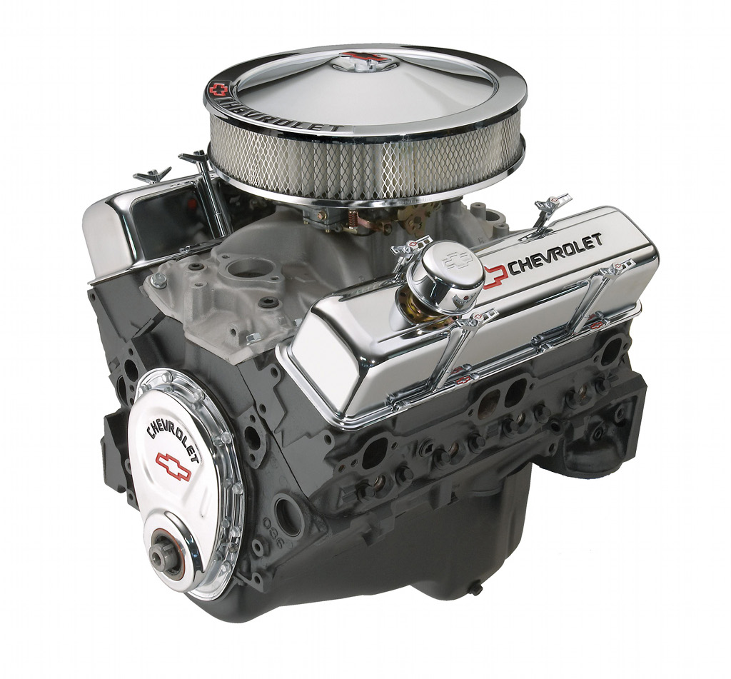 Gm Offers New 350  290 Hp Deluxe Crate Engine