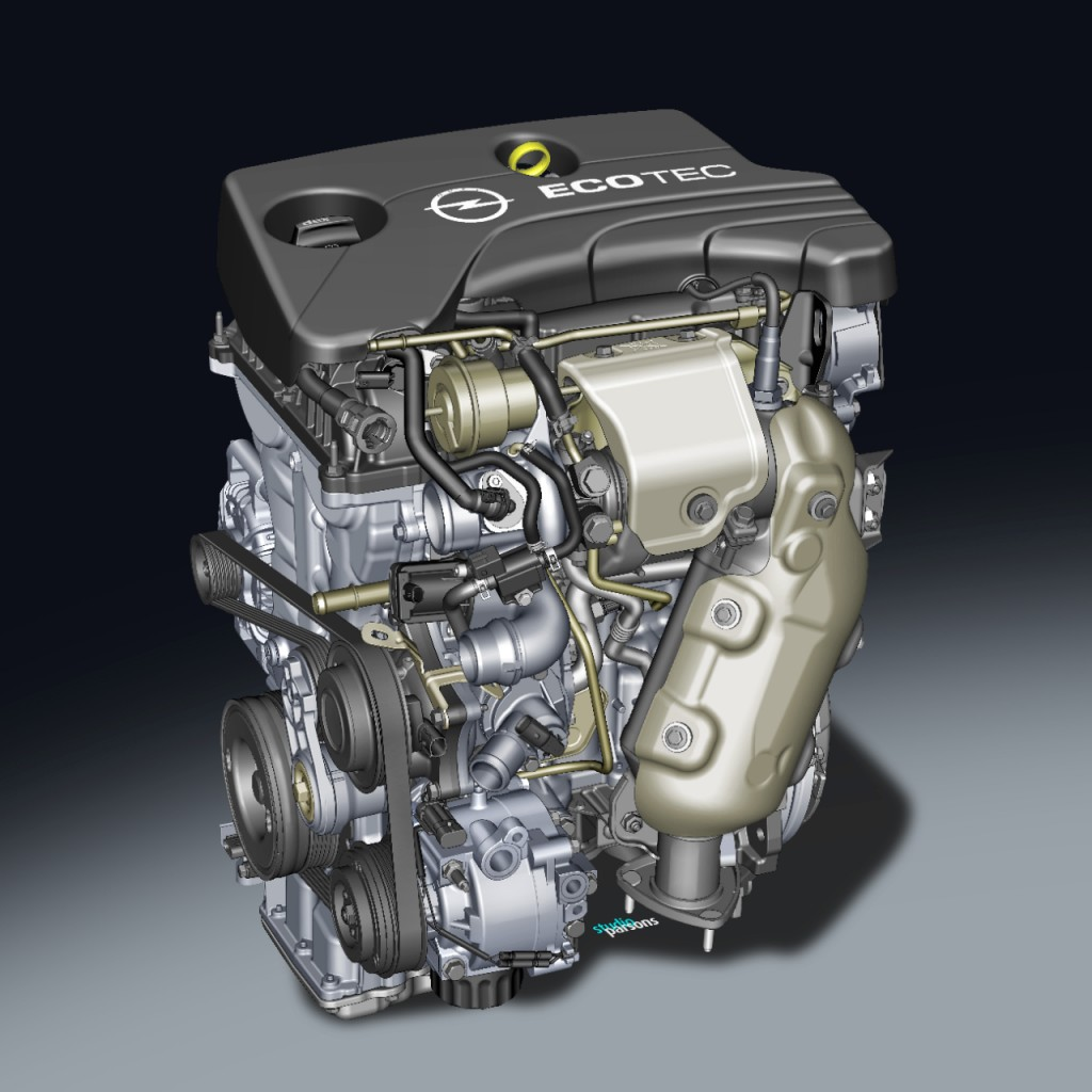 Gm and opel sidi engine family explained autoevolution for General motors marine engines