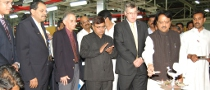 GM Opens Engine Plant in India