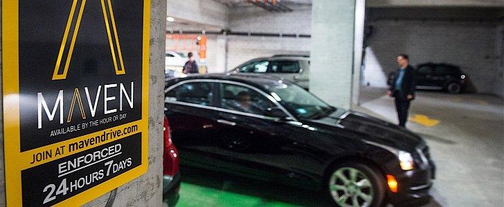 Maven Car Sharing Cities