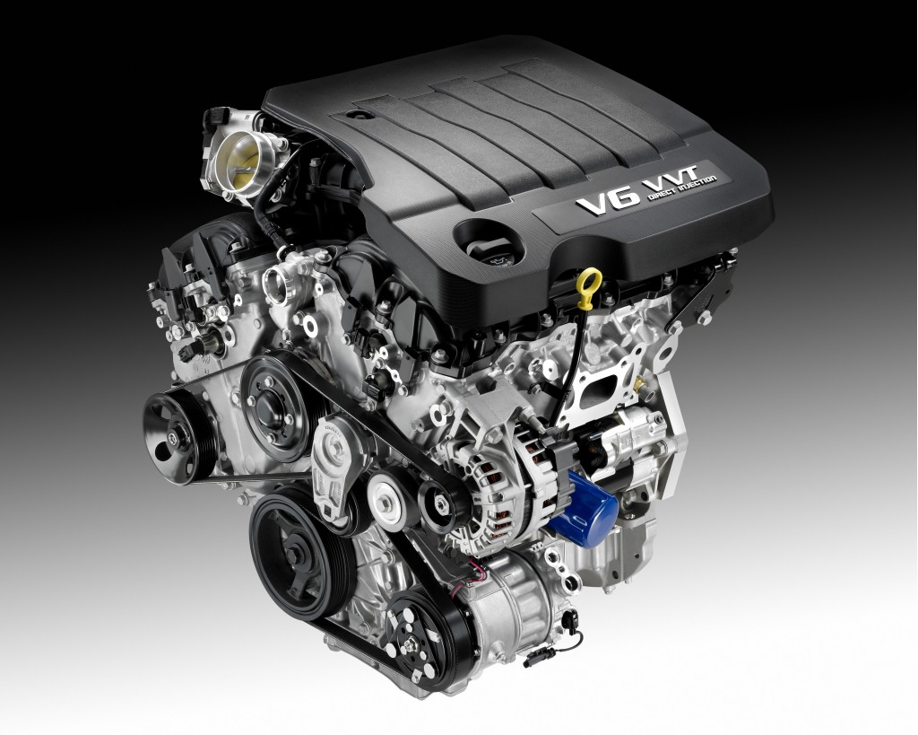 Gm To Launch Lf3 Engine In 2013 3 6 Liter Twin Turbo V6