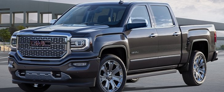 Gmc Sierra 1500 And Denali Get Enhanced For The 2017 Model Year Autoevolution