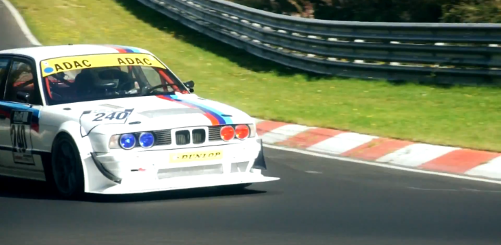 Go for a Ride Around the Nordschleife Inside a BMW E34 M5 [Video]