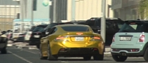 Gold Aston Martin DBS Spotted in Dubai [Video]