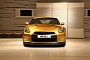 Gold Nissan GT-R Created by Fastest Man in the World, Usain Bolt