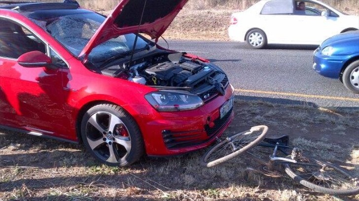Golf 7 GTI Crashed in South Africa