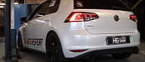 Golf 7 GTI Gets Non Resonated Bull-X Exhaust [Video] [Photo Galley]