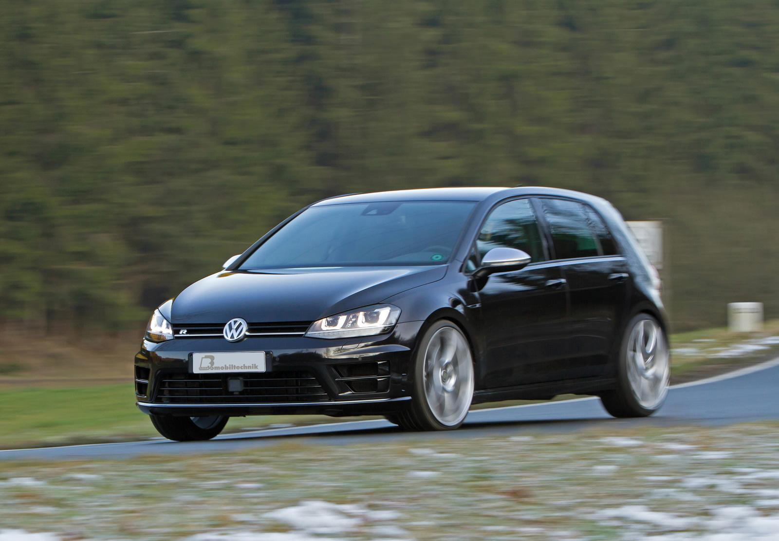 golf 7 r taken to 420 hp by b b automobiltechnik autoevolution. Black Bedroom Furniture Sets. Home Design Ideas