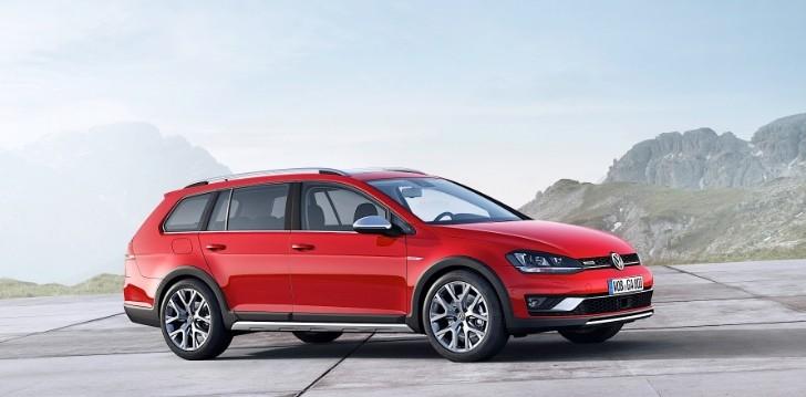 Golf Alltrack Set to Join SportWagen in US Volkswagen Lineup - autoevolution