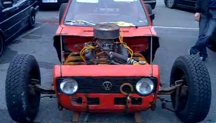 MkI Golf Becomes Volksrod [Video]
