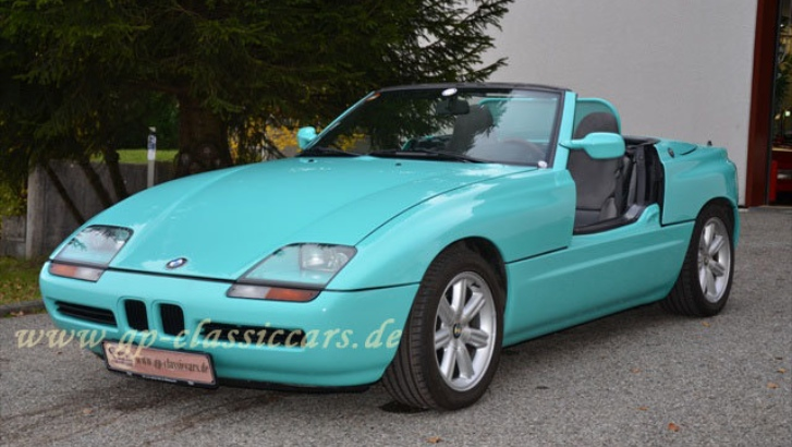 Mint Condition BMW Z1 Roadster for Sale - autoevolution