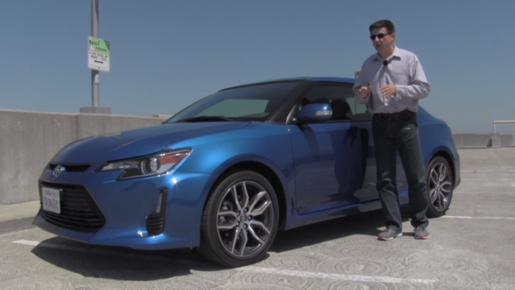 Good Looking and Fun 2014 Scion tC Reviewed [Video]