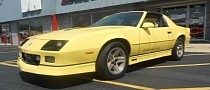Good Luck Finding Something to Hate on This Rare 1987 Chevrolet Camaro IROC-Z