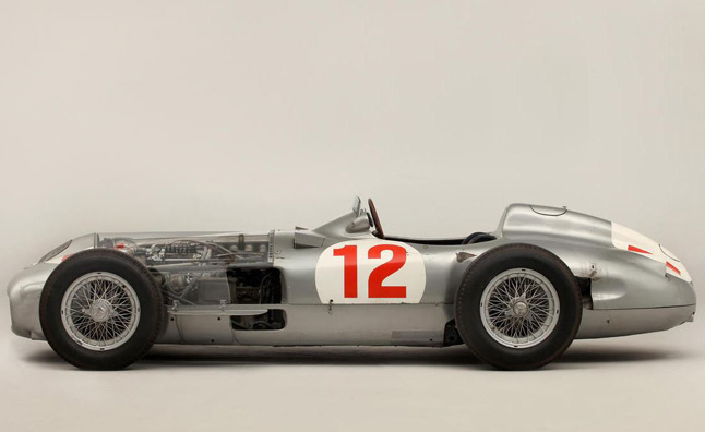 Mercedes Race Car Sells For  Million