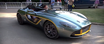 Goodwood 2013: Aston Martin CC100 Arrives [Video]