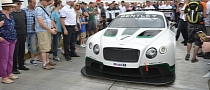 Goodwood 2013: Bentley Continental GT3 Revealed [Live Photos]