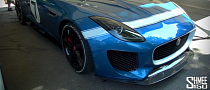 Goodwood 2013: Jaguar F-Type Project 7 [Video]