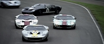 Goodwood Revival Hosts Largest Ford GT40 Gathering Ever [Video]