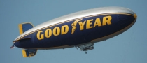Goodyear Blimp Supports the National Tire Safety Week
