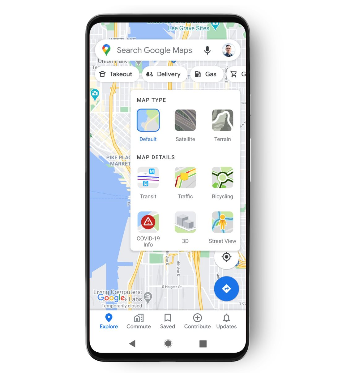 Google's new COVID-aware Google Maps will help you avoid the plague