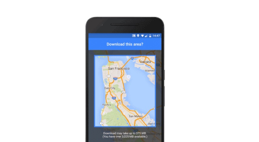 Google Maps Releases Its Offline Features autoevolution