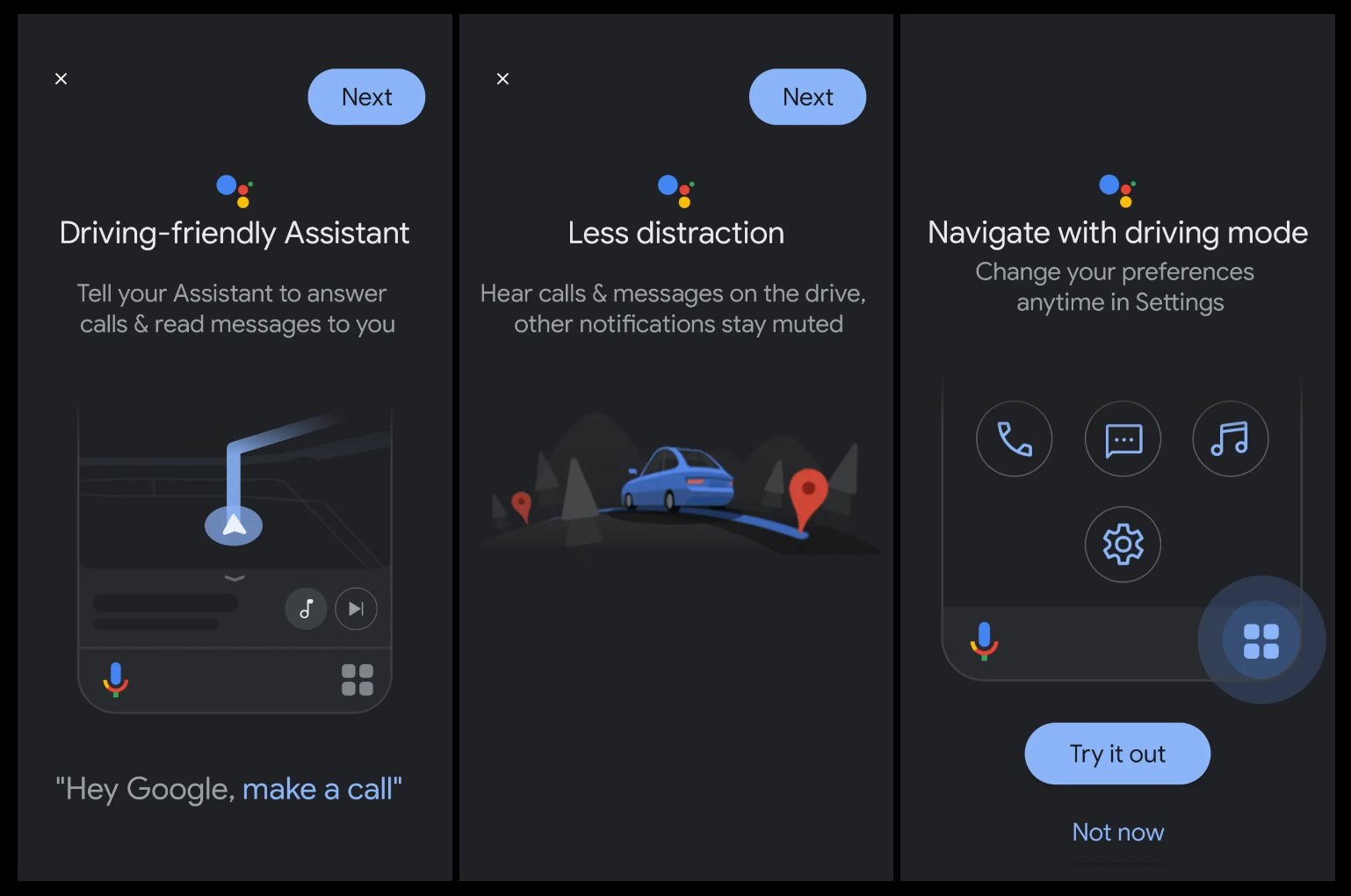 Android Auto to get custom shortcuts for Google Assistant contacts, actions