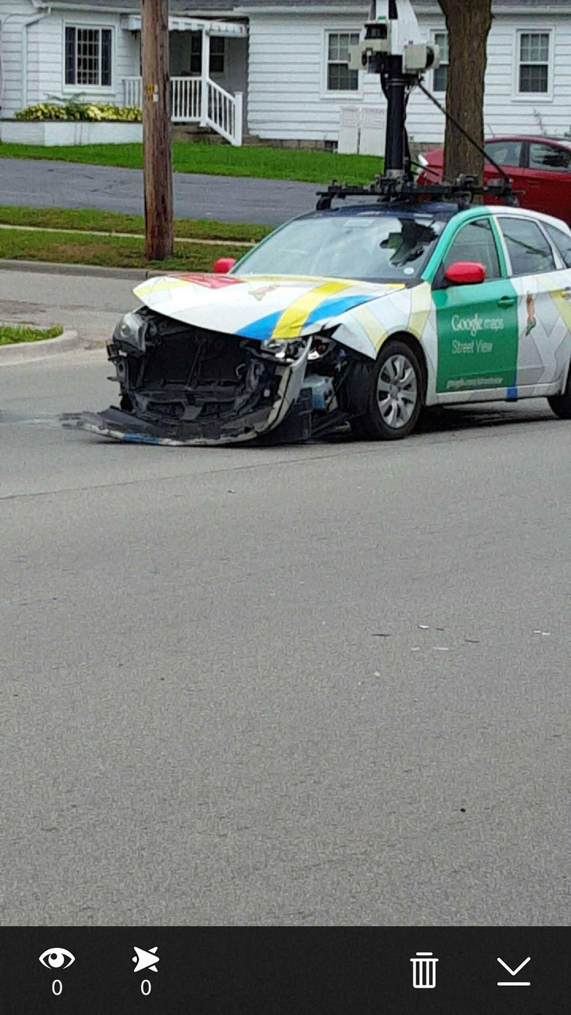 First Team Subaru >> A Google Street View Car Crashes, Shows Why Google Wants Driverless Tech - autoevolution