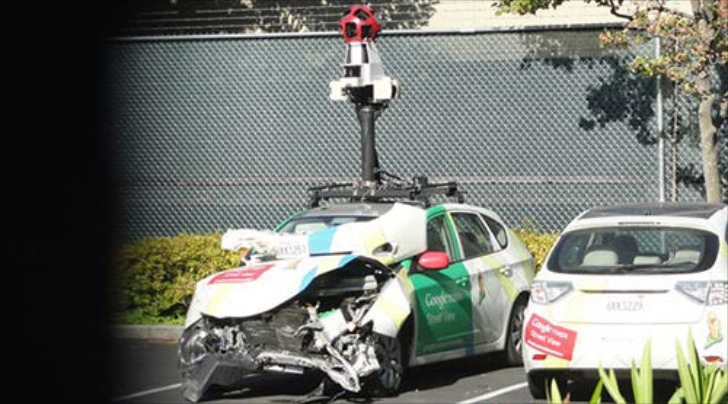 Google Street View Car Hits and Runs in Indonesia
