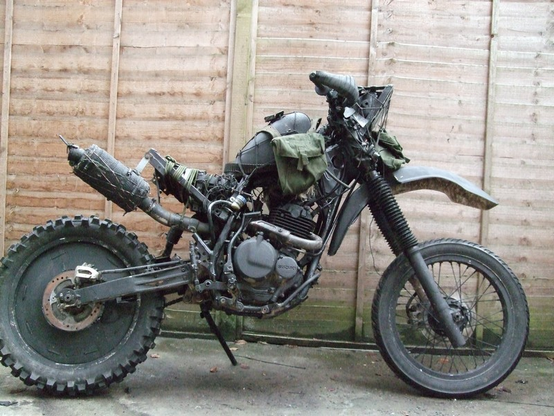Grabenratte The Grave Rat Bike Photo Gallery 53554 on klr 650 bmw