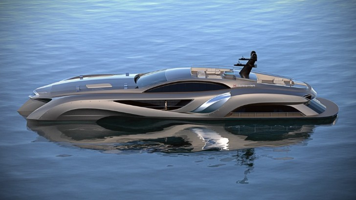 Gray Design Showcases Out of This World Yacht [Video][Photo Gallery]
