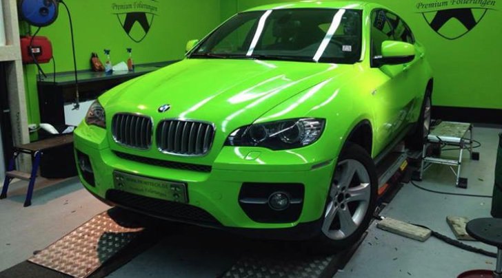 Green BMW X6 Looks Like the Hulk [Photo Gallery]