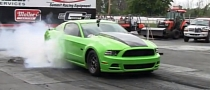 """Green Goblin"" Mustang by Evolution Performance Sets New Quarter-Mile Record [Video]"