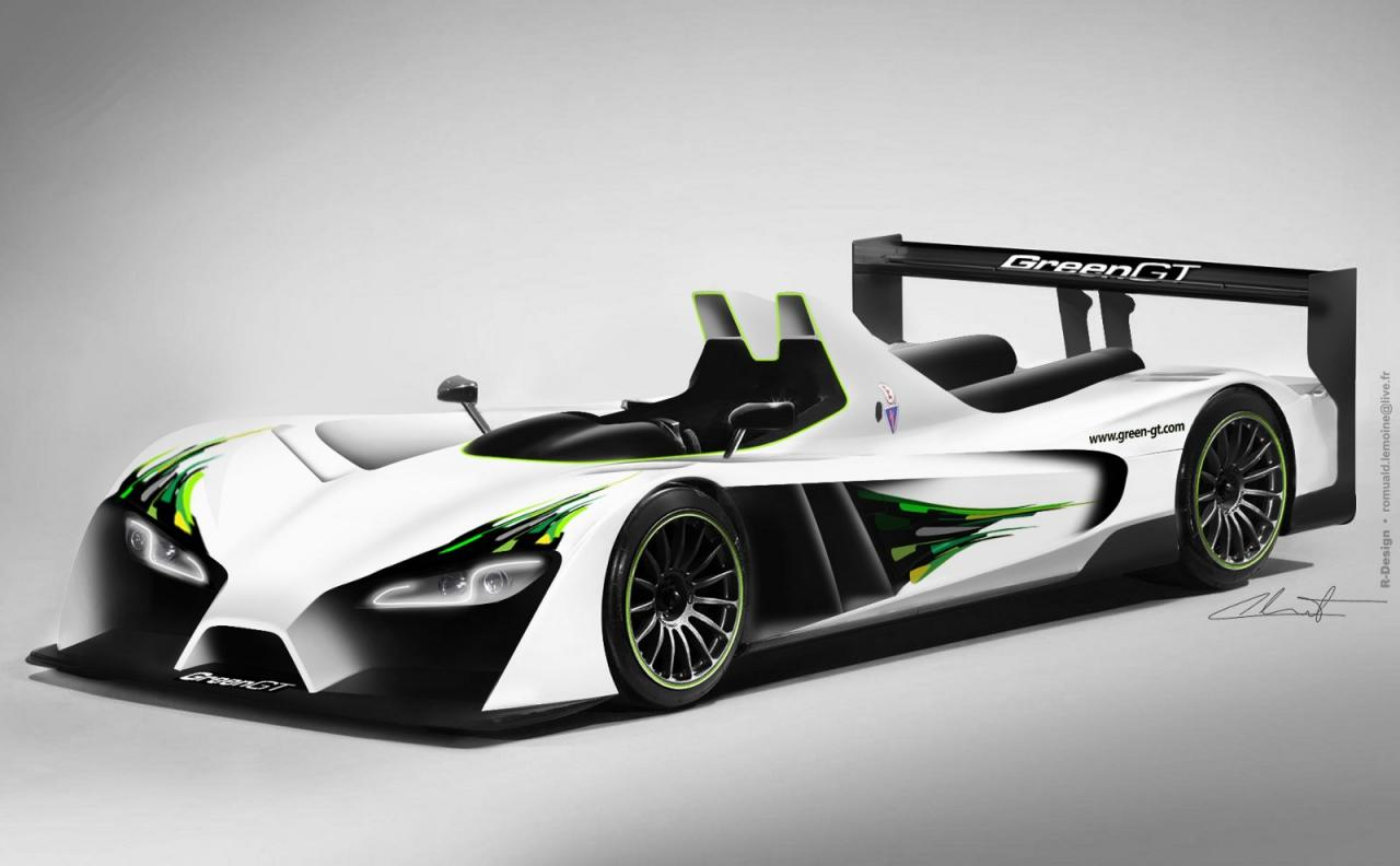 Greengt lmp h2 unveiled expected to run at 2012 le mans for Garage automobile le mans