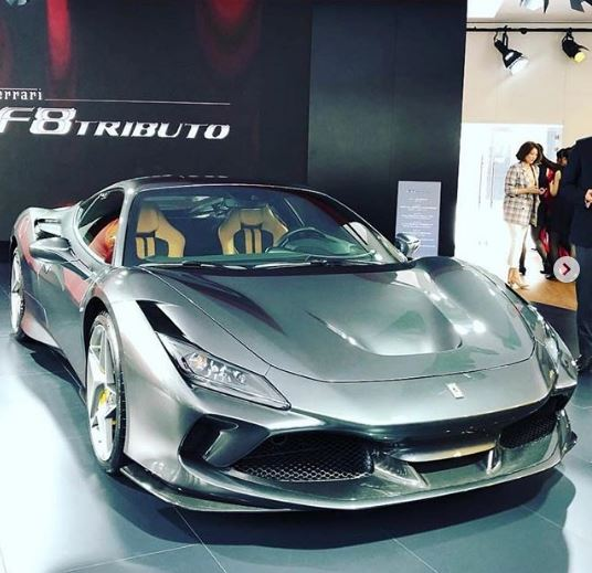Grey Ferrari F8 Tributo Shows Up in Shanghai, Looks