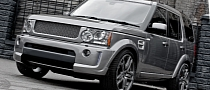 Grey Land Rover Discovery by Kahn [Photo Gallery]