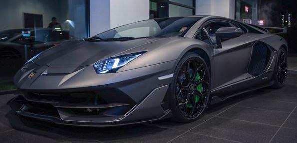 Grigio Titans Lamborghini Aventador SVJ Shows Bewildering