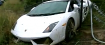 Groom Crashes Hired Lamborghini Gallardo in Australia