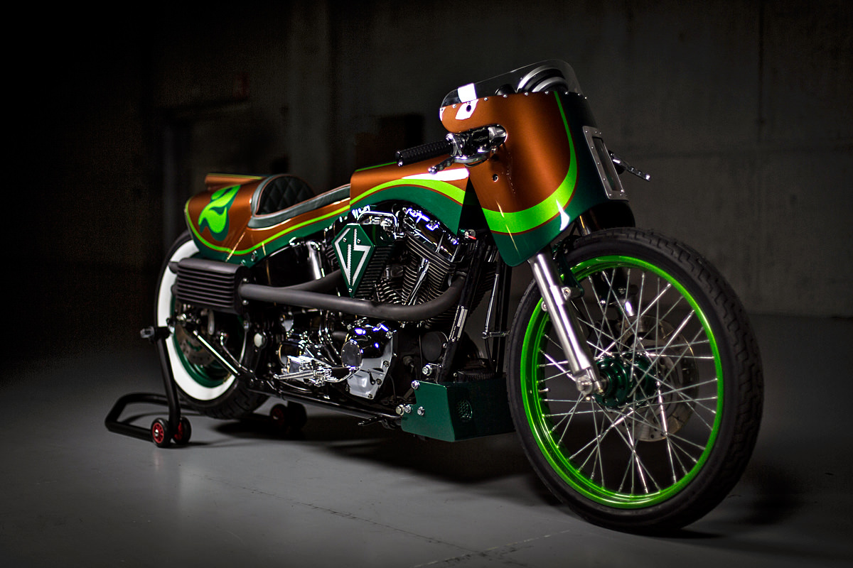 Gs Mashin Harley Davidson Fat Boy Is A Real Showstopper Autoevolution