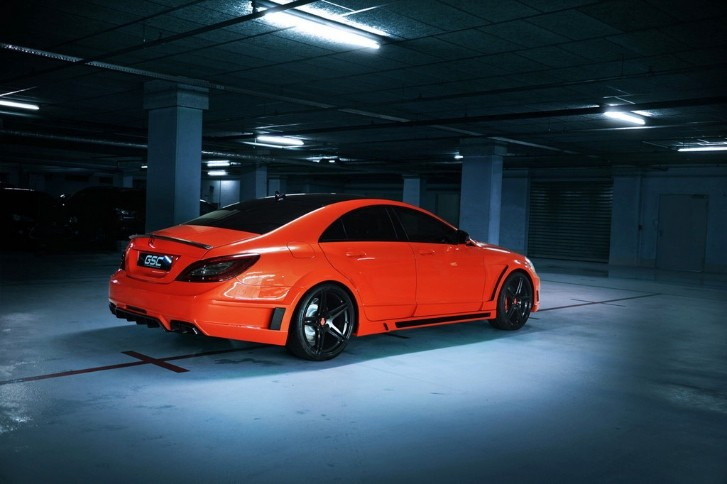 GSC Mercedes CLS63 AMG in Bright Orange
