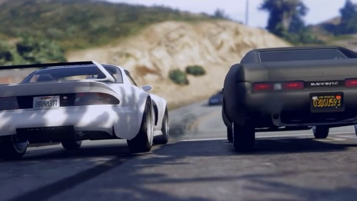 Gta 5 fan creates fast and furious tribute for paul walker - Virtual diva fast and furious 4 ...