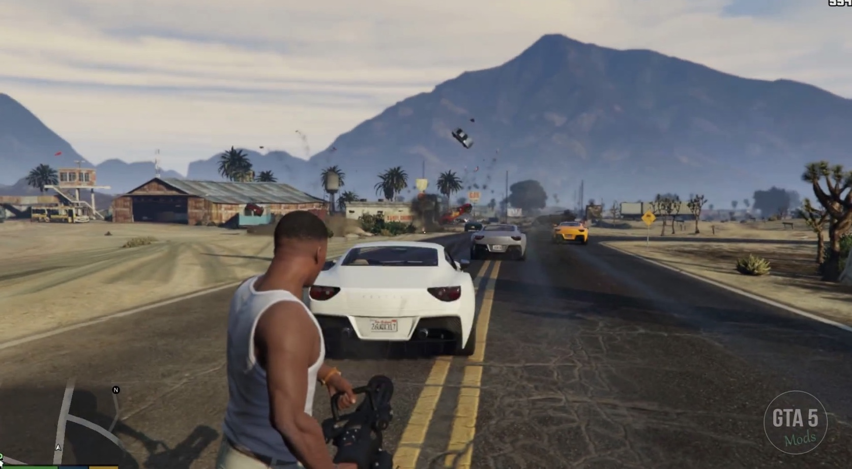 Gta Pc Mods Let You Shoot Cars Instead Of Bullets Autoevolution