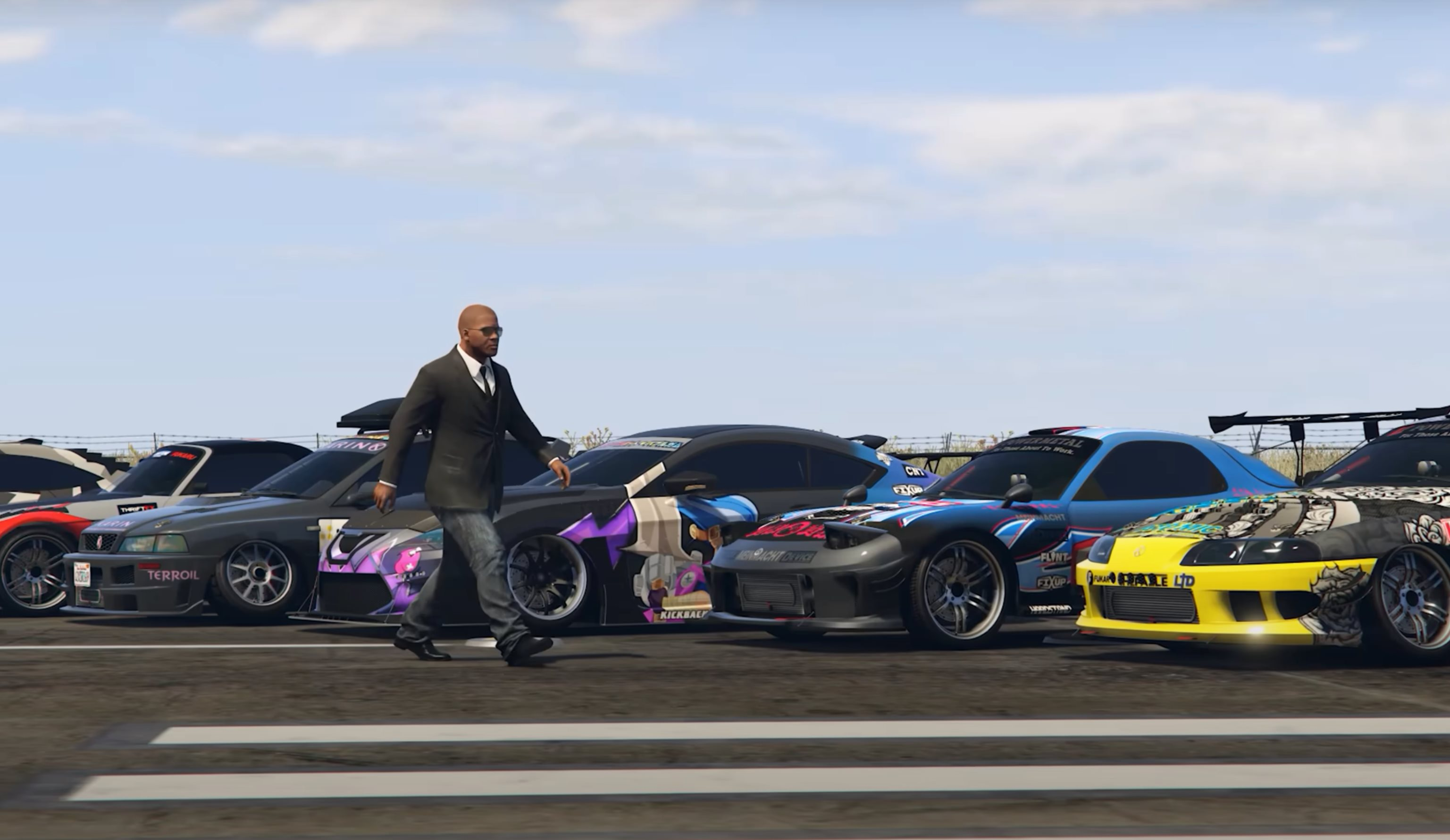 GTA Online Los Santos Tuners Cars Hit the Drag Strip With Surprising Results