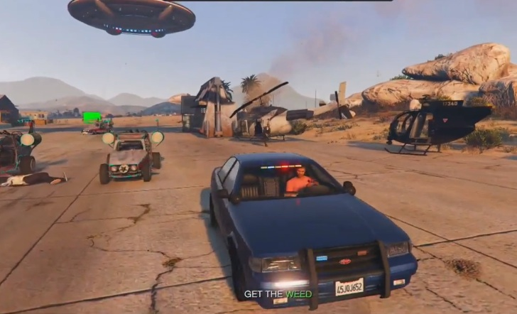 GTA V Sandbox Mode Has Unique Vehicles and Everything