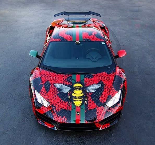 Gucci Lamborghini Huracan Wrap is All About The Swag