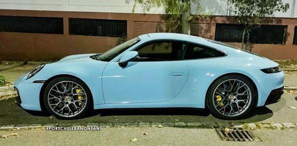 Gulf Blue 2020 Porsche 911 Reveals The Mature Design